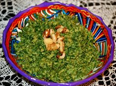 Carrot Green pesto.  Great way to get the health benefits of carrot greens! Dont expect the basil taste though.