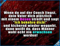 Wär doch sonst auch langweilig! ^^ #Wortspiel #Männer #TypischMann #Humor #lustig #Sprüche #Jodel #albern