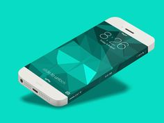 iPhone 6 Infinity Side Status Bar by Charles Treece. iPhone 6 Infinity Concept Designs