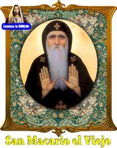 Leamos la BIBLIA: San Macario el Viejo