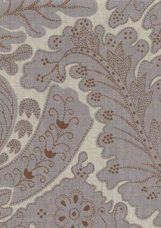 A fine linen print, using the same artwork as our popular Nantes design. Fabric Birds, Gemstone Colors, Rose Quartz, Interior Inspiration, This Is Us, Delicate, Dots, Colours, Gemstones