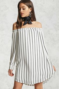 Contemporary Striped Dress
