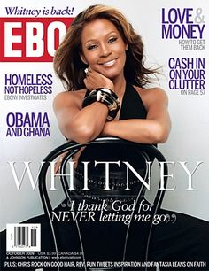 Ebony Magazine (October 2009) Whitney Houston via ebonymag.tumblr.com