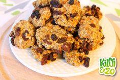Carrot cookies met rozijnen