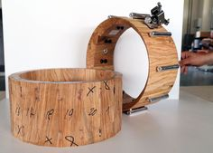 Drums Art, Snare Drum, Drummers, Percussion, Shells, Music Instruments, Woodworking, Construction, Building