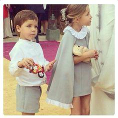 Robe cape #flowerdress #cortege #mariage #enfantsdhonneur #cortegesdegarance
