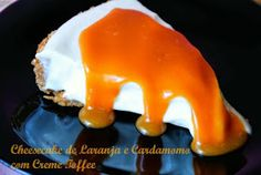 Orange and Cardamom Cheesecake with Toffee