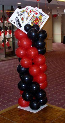 Resultado de imagen para decoracion de casinos con globos