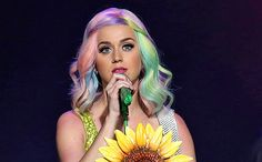 Katy Perry has a really great hair colorist and stylist. Her hair looks silky, not straw-y, and the colors are soooo pretty!