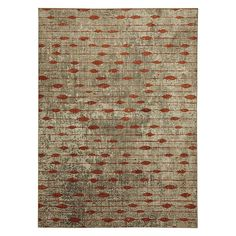 Mohawk Home Metropolitan Gianni Ginger by Virginia Langley Rug, Multicolor, 91012 20048 063094