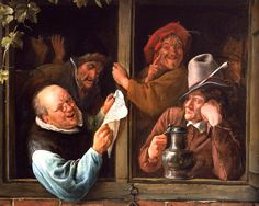 Jan Steen Rhetoricians