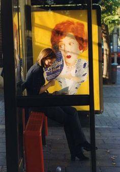 Upper Street, Islington, 1998, by Dorothy Bohm