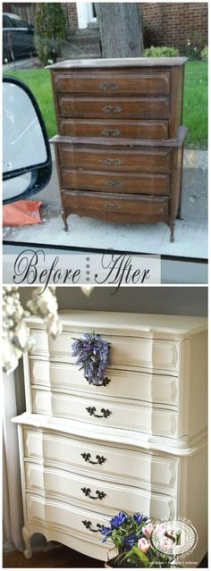 Roadside Restyle of a Classic French Dresser | Salvaged Inspirations