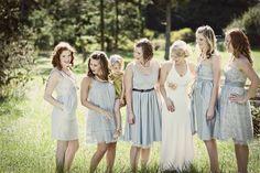 different dresses :)