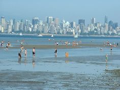 Spanish Banks Beach : Tide out Wish You Are Here, British Columbia, San Francisco Skyline, Banks, Vancouver, Spanish, Scenery, Beach, Places