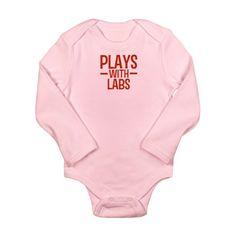 PLAYS Labs Long Sleeve Infant Bodysuit