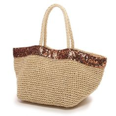 Crocheted Bags, Wicker Baskets, Jute, Straw Bag, Beige, Handbags, Templates, Crochet Purses, Wallets