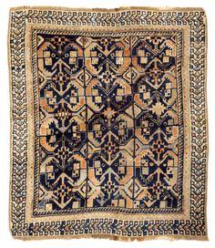 Antique Mahal Persian Rug 42219 Detail/Large View - By Nazmiyal