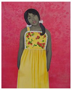 Amy Sherald (African-American, b.1973), They Call me Redbone but I'd Rather be Strawberry Shortcake, 2009
