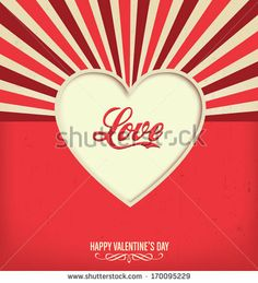 Love - Valentines Design Template by Vilmos Varga, via Shutterstock