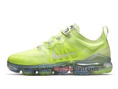 watch f4b60 19f31 Basket Nike Air VaporMax 2019 Chaussures Nike Pas Cher Pour Homme Vert  AR6632-700