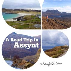 Exploring Assynt and it's surrounds? Here's all the hikes, walked, beaches and things you need to know about.  Lochinver, Achmelvich beach, Stac Pollaidh ect.   Scottish Highlands.
