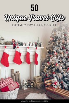 50 Unique Travel Gifts for Every Type of Traveller in Your Life Are you panicking because you haven't done your Christmas shopping yet? Make gift-giving stress-free with these unique t. Travel Advice, Travel Guides, Travel Tips, Travel Destinations, Best Travel Gifts, Best Gifts, Travel Must Haves, Travel Gadgets, Travel Essentials