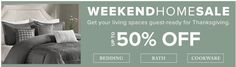 Hudsons Bay Canada Weekend Home Sale: Save up to 50% Off Bedding Bath & Cookware  FREE Shipping on All Home I... https://www.lavahotdeals.com/ca/cheap/hudsons-bay-canada-weekend-home-sale-save-50/250949?utm_source=pinterest&utm_medium=rss&utm_campaign=at_lavahotdeals&utm_term=hottest_12