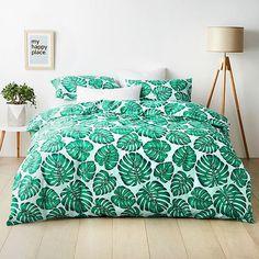 Hot House Palm Quilt Cover Set | Target Australia