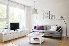 Living room / Valanti Lähellä / Valanti Venla / Valanti Ympyrä / Artemide Tolomeo / Vee Speers