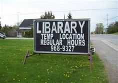 Library--it is hard to spell, I guess.
