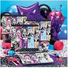 Official Monster High Party Supplies