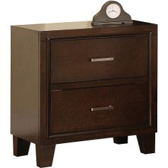 Purchase the Tyler 2 Drawer Nightstand for less at Walmart.com. $100
