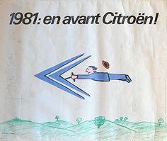 Raymond Savignac, Citroen, 1981