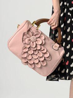 Petaled satchel  $44.95
