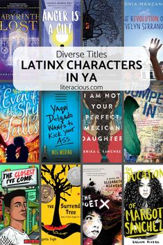 Latinx characters vary across countries, cultures, beliefs, and so much more. This is just a brief list of Latinx Characters in young adult titles. Ya Books, Book Club Books, Book Lists, Good Books, Book Clubs, Reading Lists, Books You Should Read, Books To Read, Puerto Rico