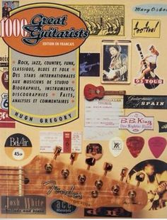 1000 Great Guitarists by Hugh Gregory Jazz, Guitar Books, Instruments, Blues, Vintage Guitars, Rock, Triangle, My Love, Biography