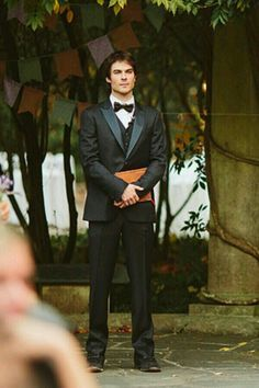 Ian officiating the wedding of his assistant Jessica