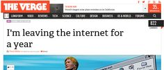 """""""I'm leaving the internet for a year"""" (and many other compelling headlines that will make your next post extra click- and share-worthy)"""