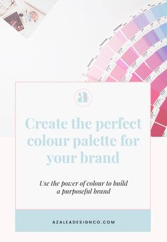 Colour plays a huge part in building a purposeful brand and connecting with customers. Learn how to create the perfect colour palette for your brand. Colour Psychology, Logo Design Tips, Colors And Emotions, Logo Branding, Palette, Create, Personal Development, Blog, Business
