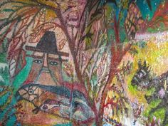The Hermitage: Old Women Who Paint On Their Walls - Bonaria Manca, born in 1925
