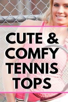 Are you looking for tennis tops that are cute and comfortable? These tennis tanks will keep you cool on the court and stylish when you are out and about. Grab these tennis tops to update your tennis wardrobe and be ready for the start of tennis season. Tennis Bags, Tennis Gear, Tennis Skirts, Tennis Clothes, Tennis Match, Play Tennis, Open Back Workout Top, Cute Workout Tanks, Tennis Funny