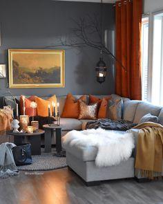 Cosy Living Room Decor, Living Room Colors, Cozy Living Rooms, Home Living Room, Interior Design Living Room, Living Room Designs, Cosy Decor, Cosy Room, Interior Design Portfolios