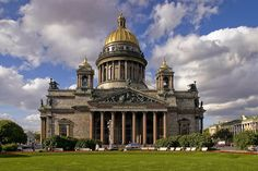 St. Isaac's Cathedral in Saint-Petersburg, Russia