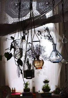 Kitchen Witchery: A Wiccan, Magick, Witchcraft, Witch Cottage, Witch House, Interior Flat, Vase Transparent, Hansel Y Gretel, Kitchen Witchery
