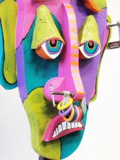 Under Pressure- Mixed Media Reuse Sculpture