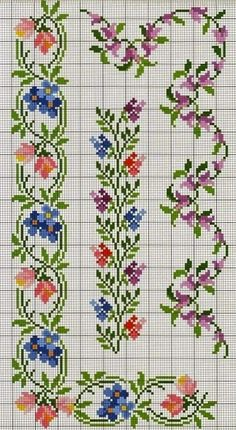 Thrilling Designing Your Own Cross Stitch Embroidery Patterns Ideas. Exhilarating Designing Your Own Cross Stitch Embroidery Patterns Ideas. Cross Stitch Boarders, Cross Stitch Bookmarks, Cross Stitch Flowers, Cross Stitch Charts, Cross Stitch Designs, Cross Stitching, Cross Stitch Patterns, Loom Patterns, Ribbon Embroidery
