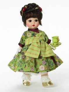 Madame Alexander 8 Inch Americana Collection Doll – Oolong Tea