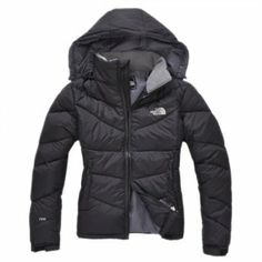 Free Shipping Black North Face Womens Down Jacket Outlet
