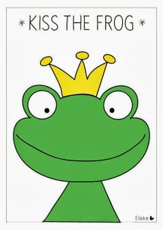 Kiss the frog: a little princess game! | Elske | www.elskeleenstra.nl #princessparty #prinsessenfeest